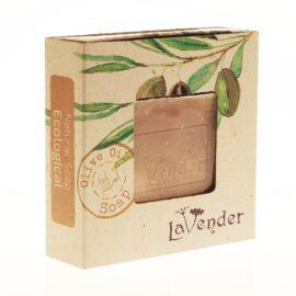סבון מוצק טבעי אקולוגי משמן זית - לבנדר קוסמטיקה טבעית ורוקחות טבעית