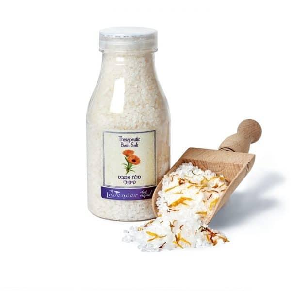 מלח אמבט טבעי טיפולי - לבנדר קוסמטיקה טבעית, רוקחות טבעית ואורגנית