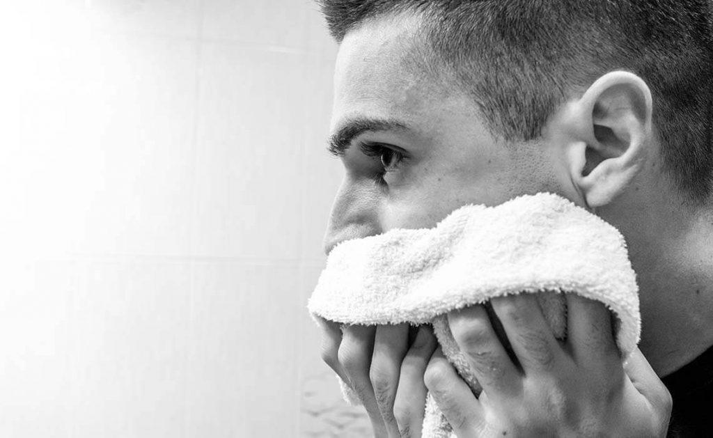 פצעונים לאחר גילוח ? סבון גילוח טבעי משמן זית - לבנדר קוסמטיקה טבעית