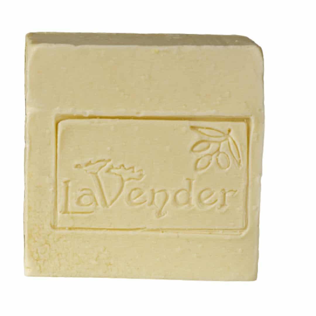 סבון חלב עיזים טבעי מוצק שם שמן זית ישראלי מבית לבנדר קוסמטיקה טבעית
