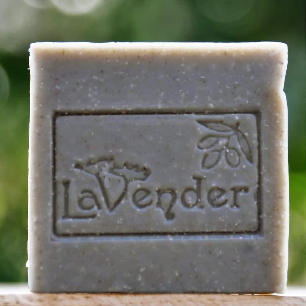 סבון טבעי עם בוץ ים המלח לגוף ולפנים - לבנדר קוסמטיקה טבעית