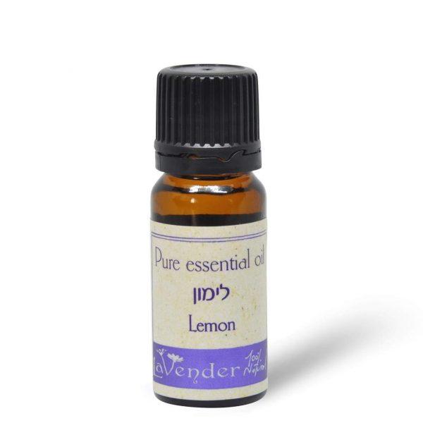 שמן אתרי לימון - לבנדר קוסמטיקה טבעית ורוקחות טבעית