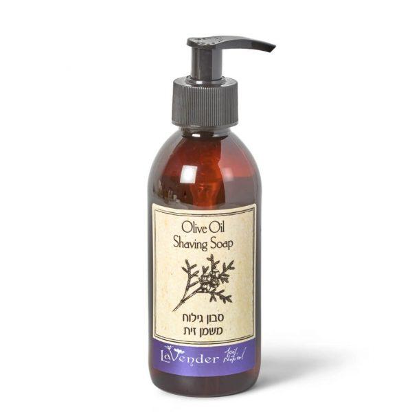 סבון גילוח טבעי משמן זית - לבנדר קוסמטיקה טבעית ורוקחות טבעית