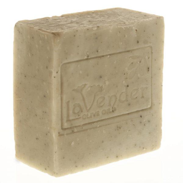 סבון מוצק טיפולי עם חימר ירוק מבית לבנדר קוסמטיקה טבעית